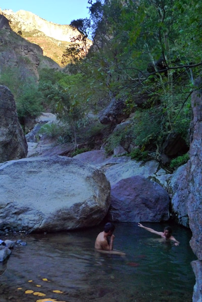 The Inner hot springs